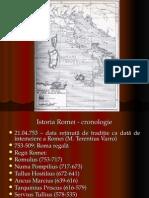 Istoria Romei - cronologie