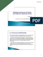 ABD Capitulo 2 Acceso a La Información 2013