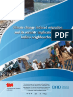 Climate Change Induced Migration and Its Security Implications for India's Neighbourhood 2009 - TERI