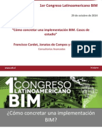 Como Concretar Una Implementacion BIM Casos de Estudio Francisco Cardet Jonatas de Campos Luis Andueza