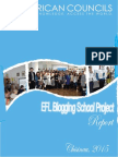 EFL Blogging School Report