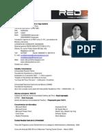CV + Portafolio 2010 Arq. Ronald de la Vega Saldaña