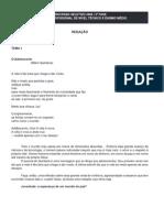 Tema de redação da prova do Cefet-rj (2006)