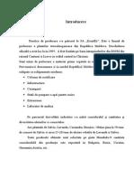 Proiect Tehnologic de Obtinere a Uleiului de Levantica