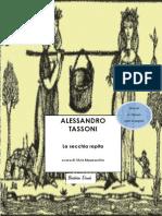 Alessandro Tassoni - La Secchia Rapita