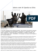 Como Israel Colabora Com Al Qaeda Na Síria - Mundo - Notícias - RTP