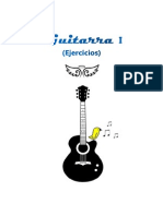 ♣ Apuntes Guitarra I (ejercicios)