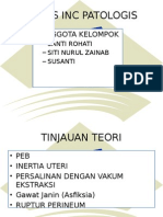 Kasus G2P1A0 PK II dengan PEB, RUPTER GIII , INERTIA UTERI.pptx