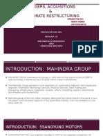 CASE STUDY MAHINDRA & SSANGYONG MEGER