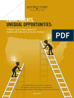 Equal Talents, Unequal Opportunities