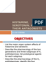 Histamine, Serotonin, And Their Antagonists