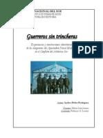 """Andrea Rodríguez, """"Guerreros sin trincheras. Experiencias bélicas y construcciones identitarias de los integrantes del Apostadero Naval Malvinas"""""""