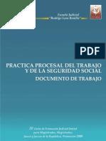 Practica Procesal en El Regimen Del Trabajo y de La Seguridad Social I