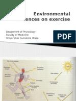 3. Environmental Influences on Exercise