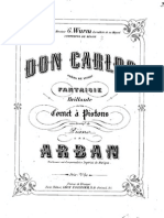 Fantasie on Don Carlos - Arban