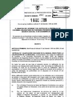 Decreto 4942 dic 09