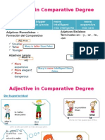 Adjective in Comparative Degree