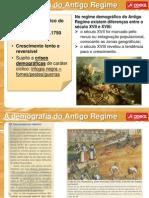 1.Demografia Antigo Regime