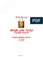 Mozart.rondo Alla Turka