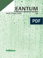 Irreantum, Volume 7, No. 1, 2005