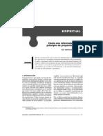 Luis Castillo - Hacia Una Reformulación Del Principio de Proporcionalidad