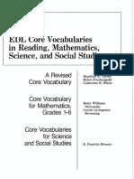 EDL Core Vocabularies