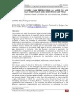 SISTEMA DE ACCIONES PARA PERFECCIONAR LA LABOR DE LOS GRUPOS DE TRABAJO COMUNITARIO EN EL MUNICIPIO DE LAS TUNAS