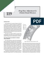 drug dose adjustment