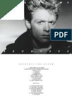 Digital Booklet - Reckless (2014 Deluxe)