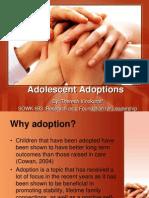 final adolescent adoption