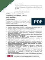 CFGM Programa Mantenimiento electromecánico 2013-2014