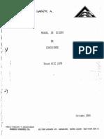 Manual de Diseño de Conexiones - Arze