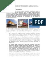 Administracion de Transporte Para Logistica