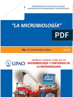 Tema 1. Microbiologia - Dr. Gonzalez Cabeza