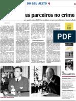 Dois grandes parceiros no crime. Borges e Casares