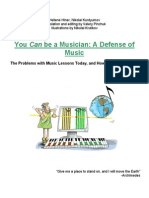 2.6 You CAN Be a Musician.defence of Music