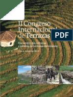 II Congreso Internacional de Terrazas. Encuentro de culturas y saberes de terrazas del mundo.