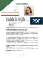 Curriculum Vitae Daniela 2015