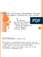 Outreach Conference Management System Requirements Gathering Case
