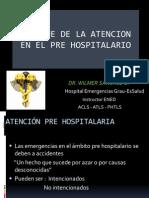 Enfoque Atencion Pre Hospitalario