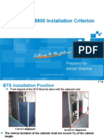 4 -ZXSDR BS8800 Installation Criterion V2.0 20100420