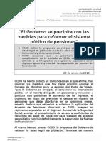"""""""El Gobierno Se Precipita Con Las Medidas"""