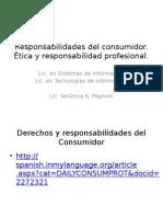 Responsabilidades Del Consumidor