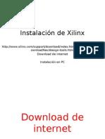 Intalacion ISE Xilinx