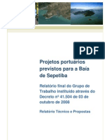 Projetos portuários previstos para a Baía de Sepetiba