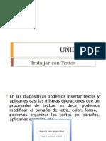 Unidad 9 y 10 (Informática III)