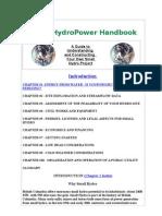 Small Hydraulic Turbin Hanbook