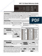 Lexicon 300 Vers.3 Quick Reference Guide