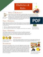 web kids and diabetes