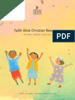 Faith Alive Catalog 2015-16